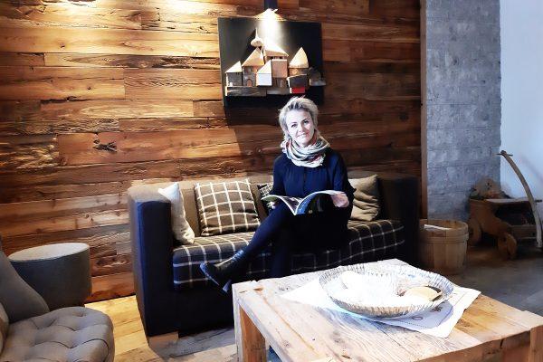 Chalet Vites Canazei Trentino Living Lifestyle Montagna Spa Wellness